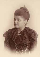Ida B. Wells (also known as: Ida Bell Wells-Barnett) one of the founders of the NAACP